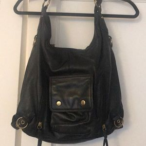Woman's leather handbag